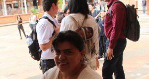 Martha Yaneth Torres Gómez, abogada de profesión y especialista en gerencia social, trabaja en la formación para el ambiente laboral de la población discapacitada de Barrancabermeja. /FOTO ADRIÁN JOSÉ JAIMES TORRADO