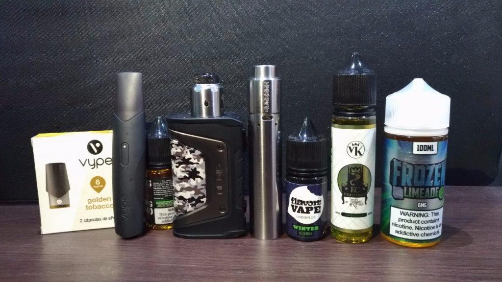 La tiendas especializadas en 'vapeado- res' pueden generar 30 millones de pe- sos en ventas mensuales en productos con o sin nicotina. /FOTO JUAN RODRÍGUEZ